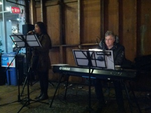 Holiday music at the Cannery!