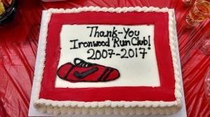 Ironwood RR Farewell Cake