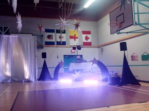 We had the school gym bouncing up and down!