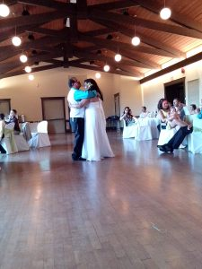 Why do I always get teary eyed when the bride and groom do their first dance?!?