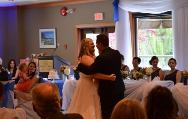 First Dance as a married couple! :)